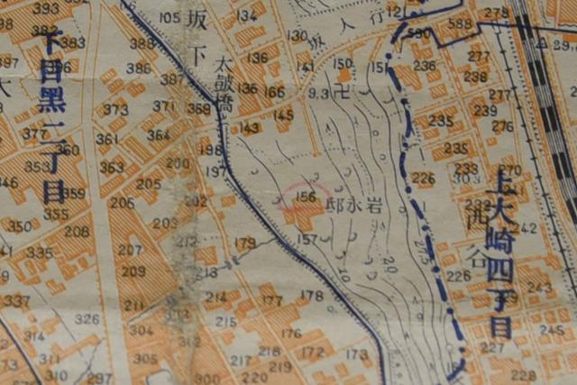 地図からも分かる偉い人の御屋敷感