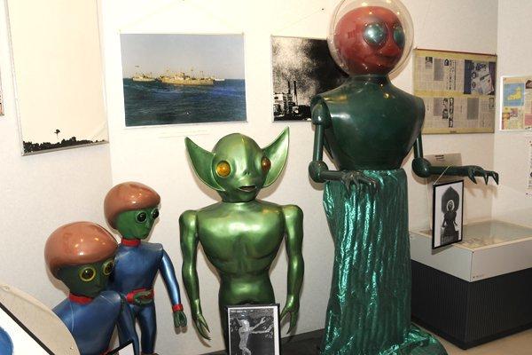 世にも珍しいUFOをテーマにした公共施設「UFOふれあい館」がある土地