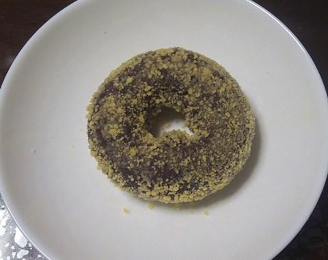 ミスドのチョコ生地ドーナツの中で一番好きです。