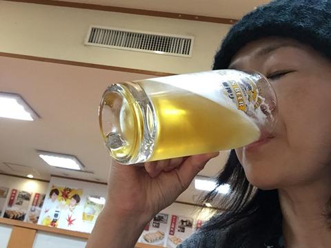 16時だけどまあ、ここは飲みますわな。はー疲れた。