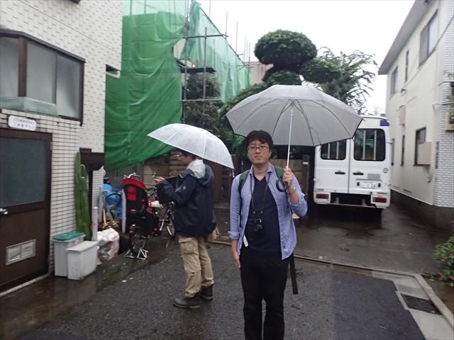 後ろがNHKの真藤さん、ためしてガッテンのチーフディレクターである