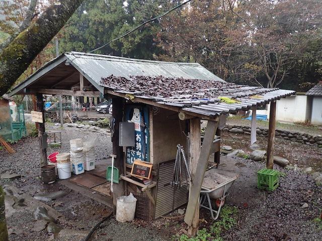 「ちょうど取り壊す家があってな、屋根とかもらってきたんだよ」ひたすら恐れ入るしかない。