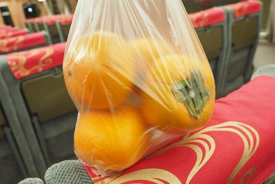 帰りに、もう一つオススメされていた美味しいピザ屋さんMieux ミュウ(残念ながら撮影不可)に寄ったら、柿をたくさんもらった。嬉しい。