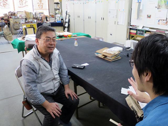 どんな質問にも笑顔でさらっと答えてくれる衡山先生
