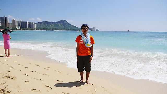 そんなハワイにやってきております!