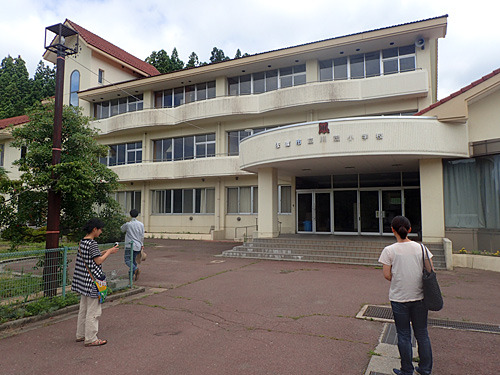 ここがイベント会場となる旧川茂小学校。