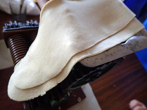 小麦粉を少しいただいたので、さっそく製麺してみました。