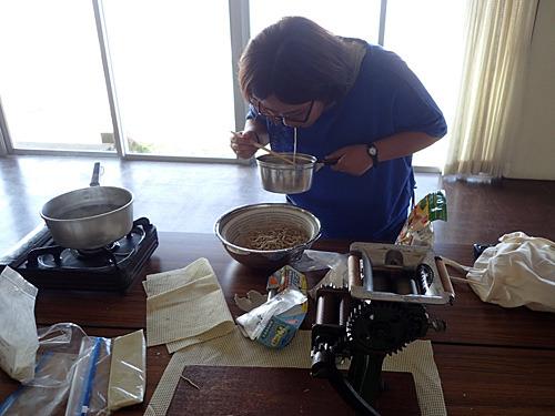 小麦粉を紹介してくれた中村さん、ありがとう!