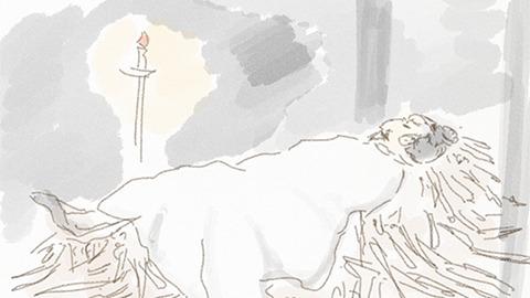 薪(たきぎ)で寝るのが「臥薪」このつらさが恨みを維持する