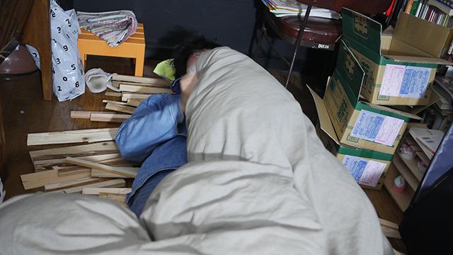 枕を導入しました。酔いにまかせていったれ!