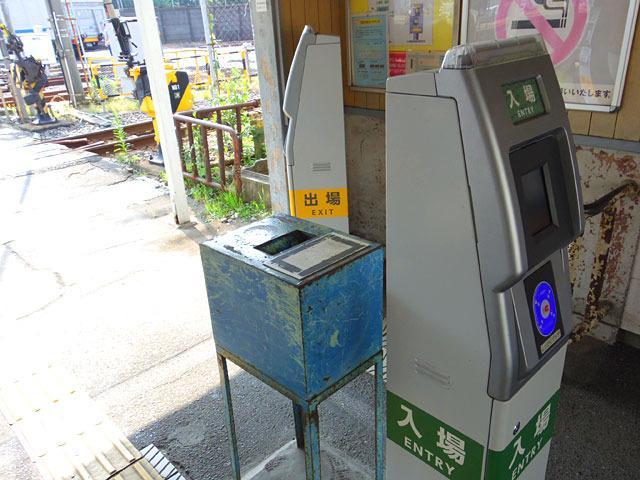 簡易Suica改札機はあるけど自動改札機とかそういったものは存在しない