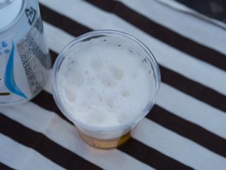 注いだ瞬間は泡が沢山でるのに1分後にはなくなっているのはノンアルコールビールの特徴だ