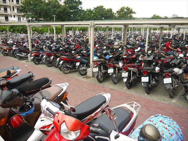 ただやはり、バイクの数がすごかった!