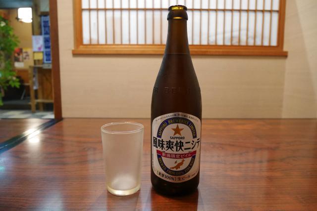 新潟の地ビール「風味爽快ニシテ」