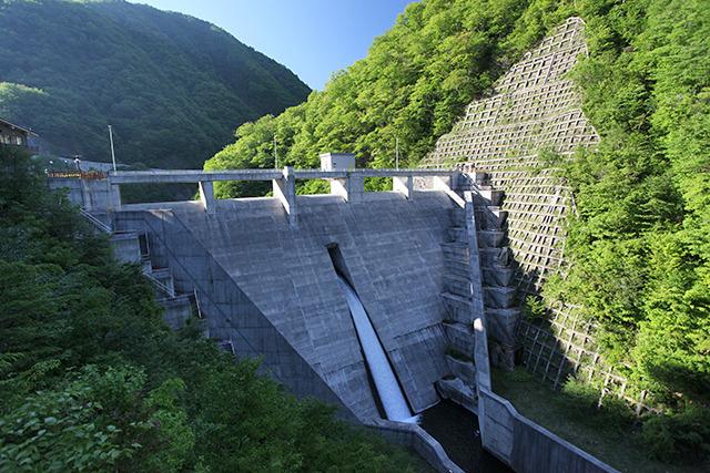 これが三河沢ダムだ!