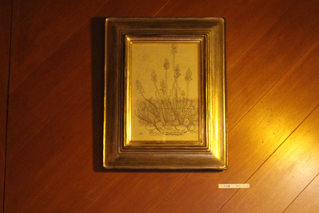 店内に飾ってある絵画は、丹間さんの義理のお姉さまの作品