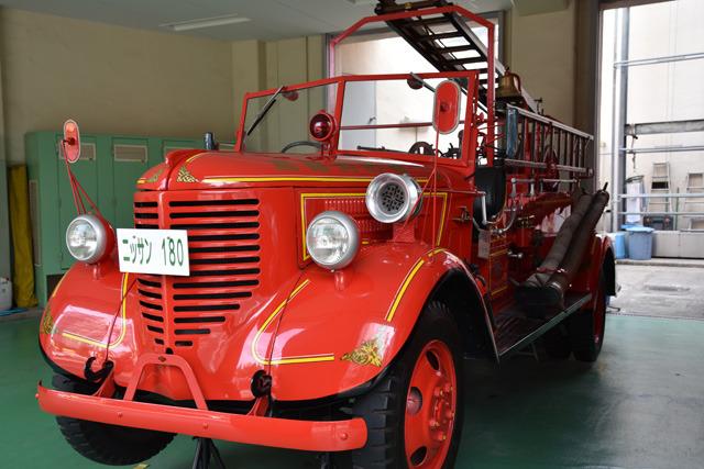 かっこいい保存車両が展示されていた