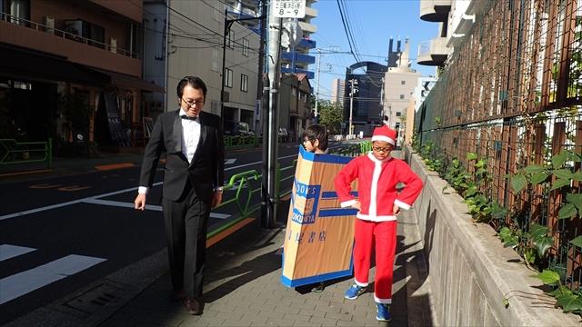 ブックカバーの方が息子の太郎で、サンタ姿の方がすばるくんです、すばるくんがなぜサンタのかっこうなのかは前の記事</a>をご確認ください