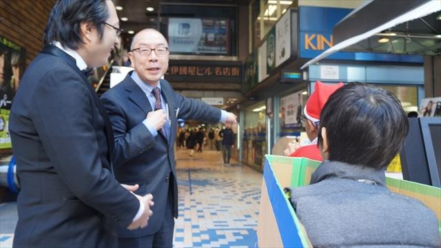 今回、譲渡式を仕切って下さった紀伊國屋書店新宿本店店長の西 根さん
