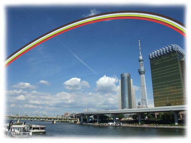 パァァァァ…(虹が架かる音)