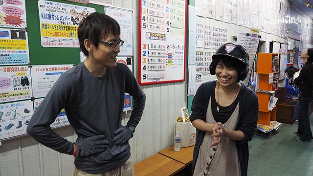 バッティングの楽しさの意味がちょっとわかった石川さん。