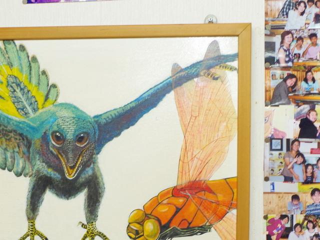 北村さんが驚いたトンボの羽の透明感