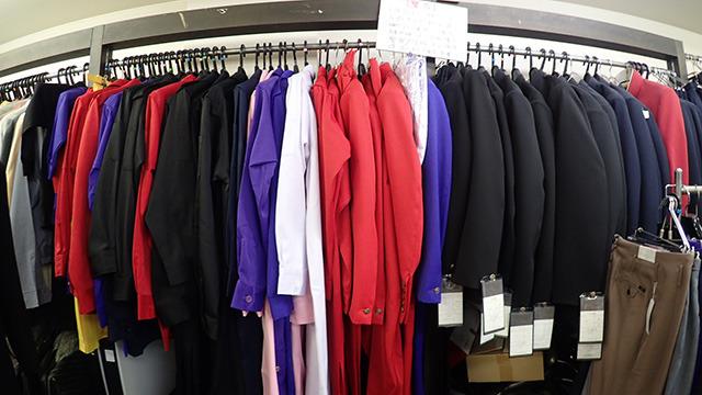 ベースとなる特攻服はこの中から選びます。予想外に選択肢が多い。