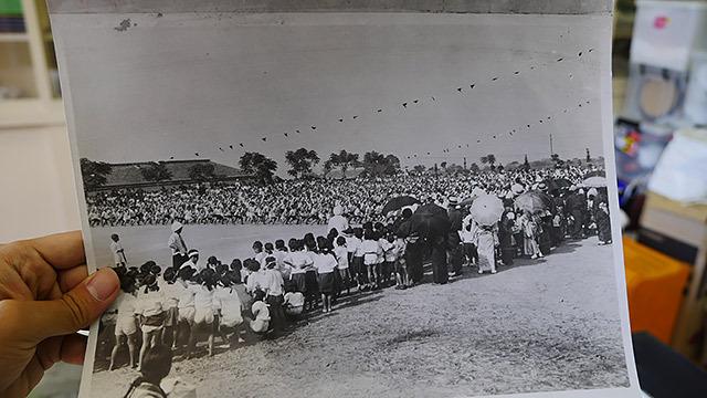 当時の小学校の運動会