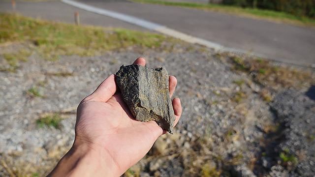 これが石炭です!(言われたら軽い気がした)