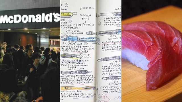 小学生の文房具図鑑・泣けるマクドナルド・進化寿司が今年のトップ3でした!