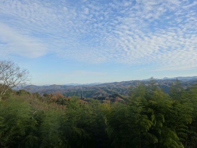 雲南市の高いところから。絶景である。