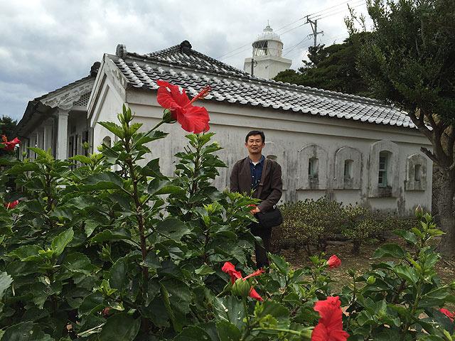 向井さんイチオシのアングルから撮ってもらった。 (写真撮ると3枚中2枚は目をつむってる私)