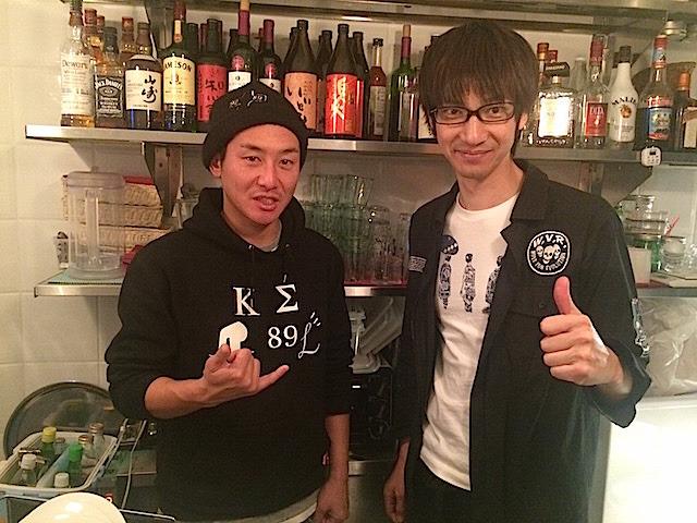 左・宮入圭史さん(31歳)と右・信田敏弘さん(35歳)