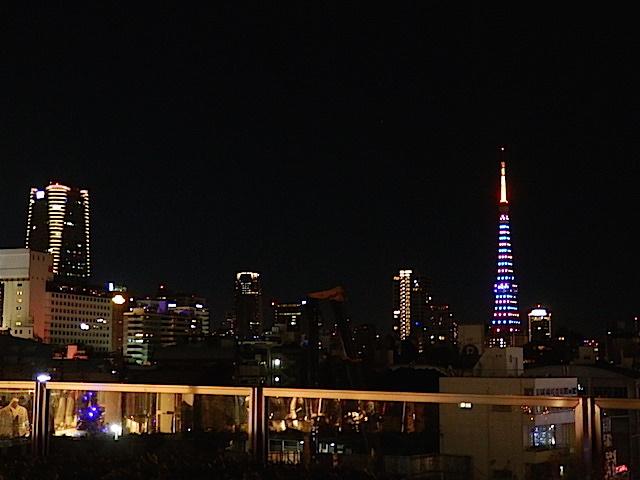 東京タワーがきれいに見えるスポットも