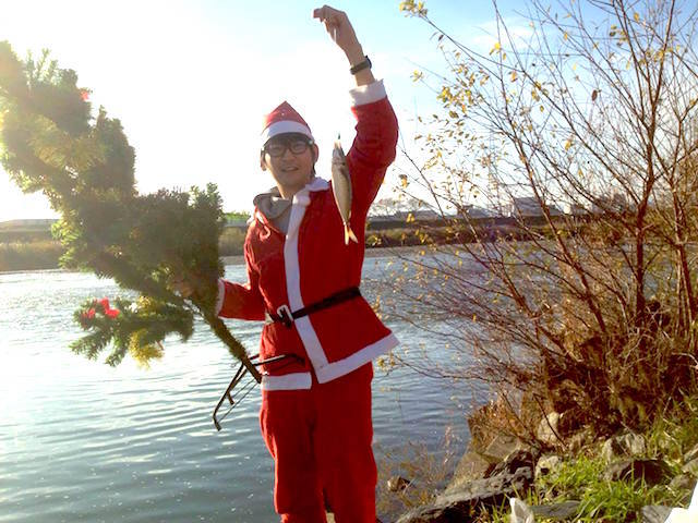 これがクリスマス釣りーだ。