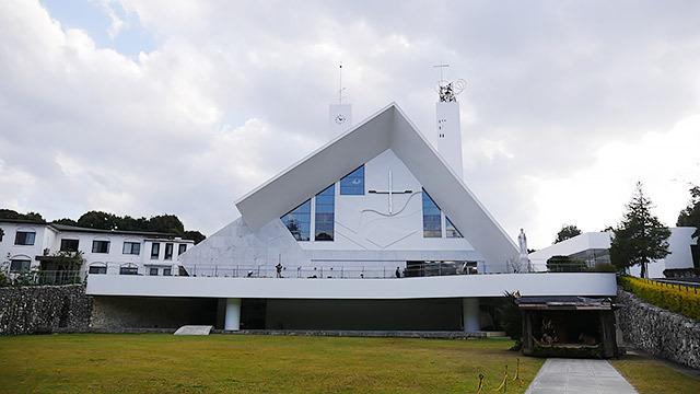 ザビエルが来たことを記念して建てられた「サビエル記念聖堂」
