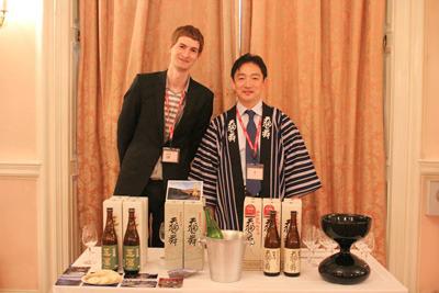 当時は大使館での日本酒イベントなども手伝っていたそうです。