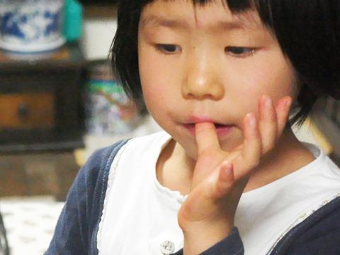 おいしさの度合いを顕著に出すのはいつでも子供の反応だ。DPZ ライ ター大北&高瀬ご息女は食べた指をいつまでも舐めていた。