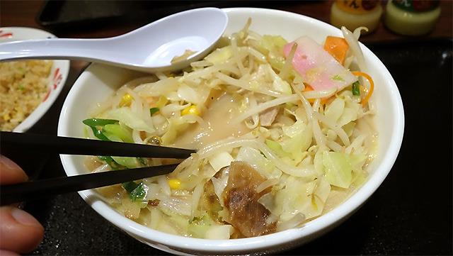 リンガーハットの麺なしちゃんぽん(林雄司)