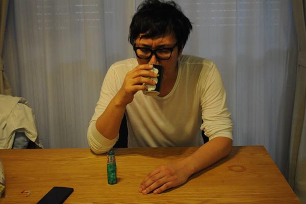 実際に二日酔いの際のお写真です。ご査収ください。