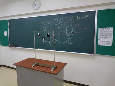 ロケ地で張り込んだのが教室風の撮影スタジオ。14,000円。