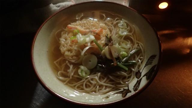 五所川原名物、竹鼻製麺のぼんじゅそば
