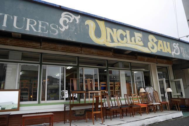 創業40年を越える「UNCLE SAM」 米軍基地が主催する家具のオークションや現地から買い付けなどを行うオシャレ家具店