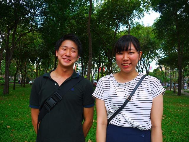 住み始めて三週間の榎本くん(左)、一ヶ月の小暮さん(右)です。