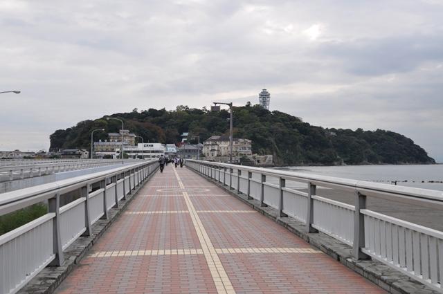 江の島へ渡る橋