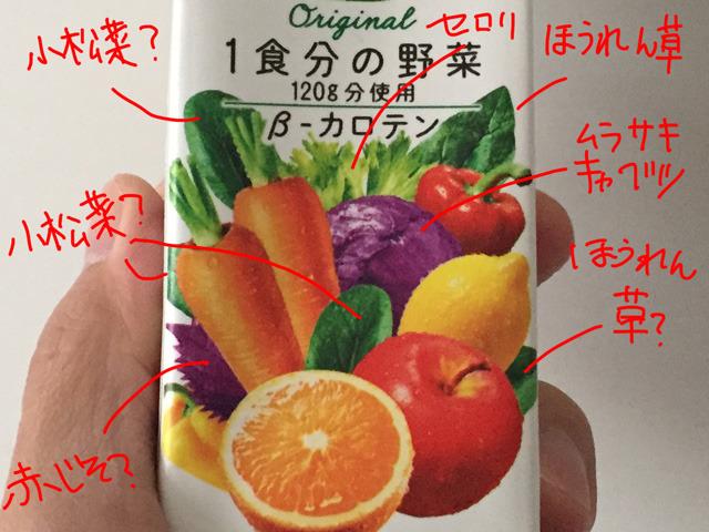 オーナーがイラストを見て、なんの野菜か考えてくれた。