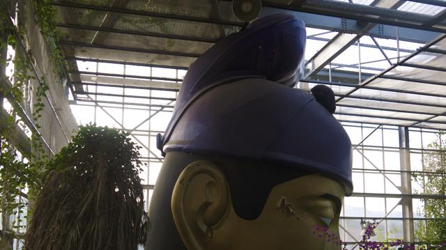 温室の聖徳太子
