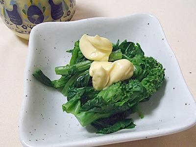 高級マヨネーズ。もちろん野菜につけても最高にうまかったですよ。ごはんもいいけど野菜もね。