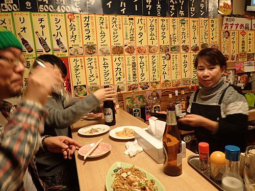 こちらが店主。もちろん注文は日本語で大丈夫。