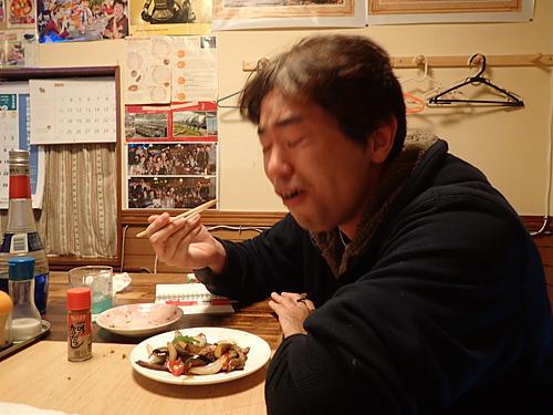 油断して食べたらこれが結構辛かった。でも本場に比べるとまだまだらしい。